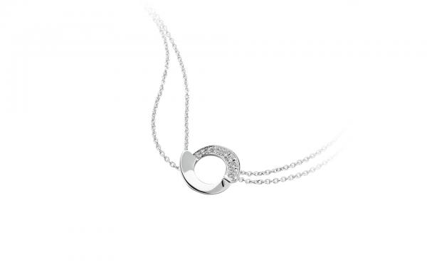 372fae5539e41 Bracelet Envol Garel 0.09ct or blanc – Malique bijoutier joaillier ...